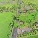 Aerial Video in an Amazing Landscape, with Drone, Above Rice Terraces and Regional Asphalt Road. - VideoHive Item for Sale
