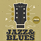 Jazz & Blues Event Flyer - GraphicRiver Item for Sale