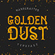 Golden dust typeface - GraphicRiver Item for Sale