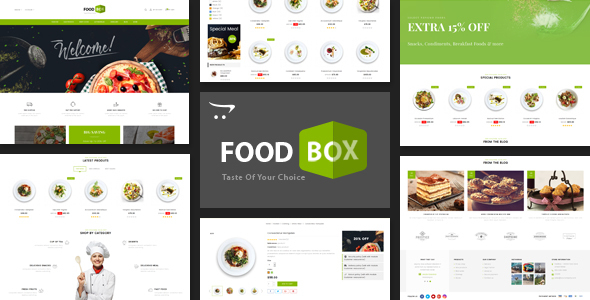 Food Box - Multipurpose Opencart 3.x Responsive Theme