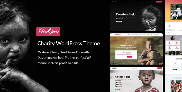 Image of Heal Pro- Multipurpose Charity WordPress Theme
