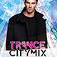 Trance City Mix Flyer