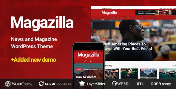 Magazilla - News & Magazine Theme - News / Editorial Blog / Magazine