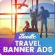 Animated GIF - Travel Banners Ads - GraphicRiver Item for Sale