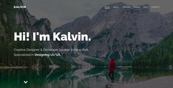 Image of Kalvin - Portfolio Template