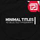 Minimal Titles II - VideoHive Item for Sale