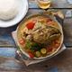 Curry fish head, Traditional singaporean cuisine - PhotoDune Item for Sale