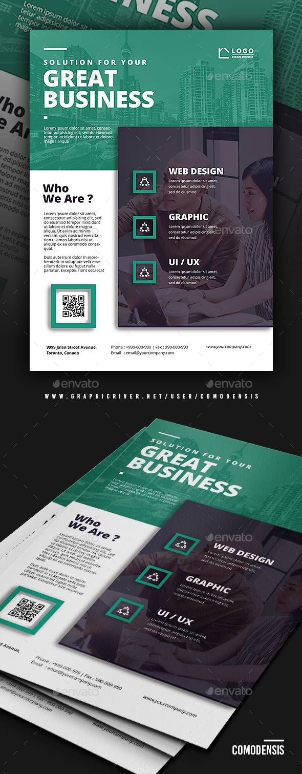 Business corporate flyer templates by comodensis graphicriver business corporate flyer templates corporate flyers cheaphphosting Images