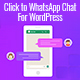 Click to WhatsApp Chat for WordPress - CodeCanyon Item for Sale