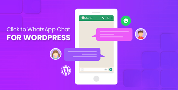 Click to WhatsApp Chat for WordPress            Nulled