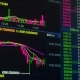 Bitcoin Cryptocurrency Price Chart Going Up and Down on Digital Market Exchange - VideoHive Item for Sale