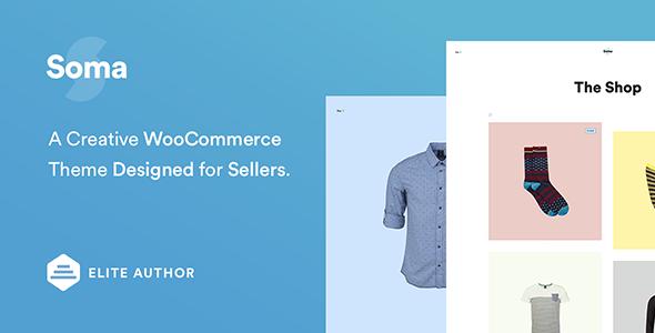 Soma - Creative WooCommerce Theme