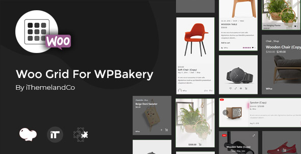 Woo Grid For WPBakery Page Builder (Visual Composer)            Nulled