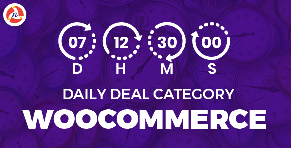 Daily Deal Category Woocommerce            Nulled