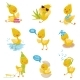 Duckling Character Set - GraphicRiver Item for Sale
