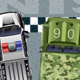 Police and Military Car Sprites