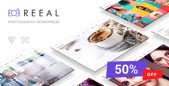 Image of Reeal Photography WordPress Theme