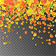 Autumn Flying Leaves - GraphicRiver Item for Sale