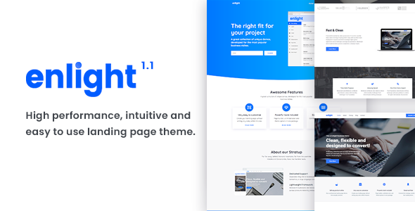 Enlight - Multipurpose Landing Page Theme