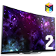 Smart Screen Mockup - UHD TV - GraphicRiver Item for Sale