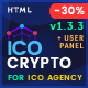 ICO Crypto - Bitcoin & Cryptocurrency ICO Landing Page HTML Template + User Dashboard - ThemeForest Item for Sale