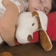 Beautiful Little Girl Is Sleeping with Toy - VideoHive Item for Sale