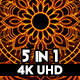 Ethnic Fire Mandala VJ Loops - VideoHive Item for Sale
