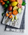 Mix of different citrus fruits closeup - PhotoDune Item for Sale