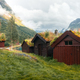 Traditional scandinavian old wooden houses - PhotoDune Item for Sale