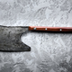 Old rustic axe for meat on grunge background - PhotoDune Item for Sale