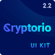 Cryptorio - Cryptocurrency Trading Dashboard UI KIT - ThemeForest Item for Sale