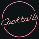 Retro Pink Neon Cocktails Sign - PhotoDune Item for Sale