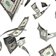 Falling Money Dollars - VideoHive Item for Sale