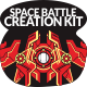 Space Battleship Creation Kit - GraphicRiver Item for Sale