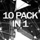 4K Plexus Monocrome Vj Pack - VideoHive Item for Sale