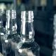 Washed Bottles Go on an Assembly Line - VideoHive Item for Sale