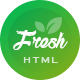 Freshmart - Organic, Fresh Food, Farm HTML Template - ThemeForest Item for Sale