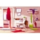 Hallway Room Messy Interior Vector Illustration - GraphicRiver Item for Sale