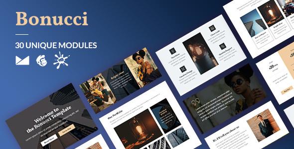 Bonucci Email-Template + Online Builder