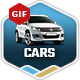 Cars Animated Banners