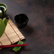Green teapot and tea cups - PhotoDune Item for Sale