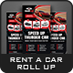Rent a Car Roll-Up Banner Templates - GraphicRiver Item for Sale