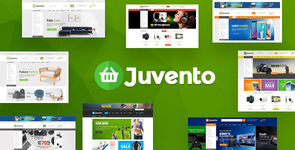 Juvento - Electronics Ecommerce Bootstrap 4 Template - Shopping Retail