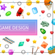 Cartoon Game Design UI Elements Concept - GraphicRiver Item for Sale