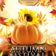 Autumn Fall Harvest Festival Flyer - GraphicRiver Item for Sale