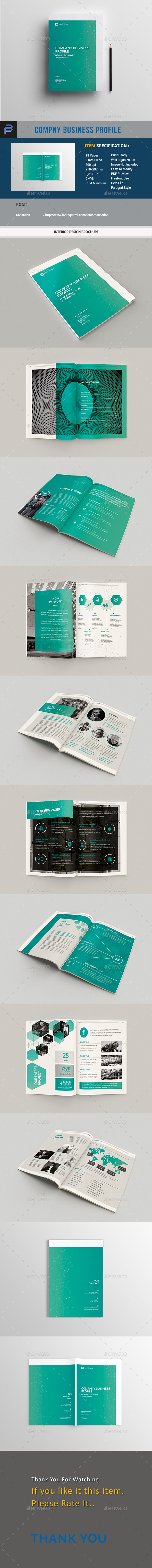 Company Business Profile - Corporate Brochures