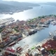 Bergen Is a City and Municipality in Hordaland on the West Coast of Norway - VideoHive Item for Sale