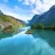 Lovatnet Lake Beautiful Nature Norway. - VideoHive Item for Sale