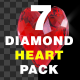 Diamond Heart Pack - VideoHive Item for Sale