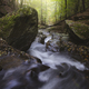 Mountain river with rapids in autumn - PhotoDune Item for Sale